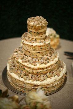 A Momofuku Milk Bar birthday cake as a wedding cake | @aglasshaus | Brides.com