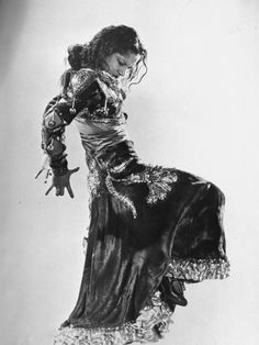Spanish Flamenco Dancer Carmen Amaya