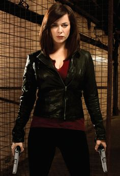 Gwen Cooper, Torchwood. Another fictional bad ass... I would want Gwen Cooper on my side in any fight.