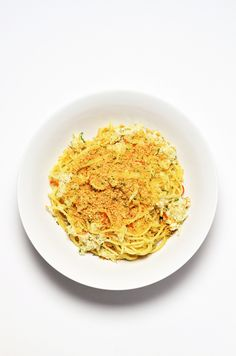 How To Make Crab Spaghetti With Chili And Breadcrumbs
