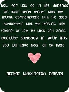 - George Washington Carver