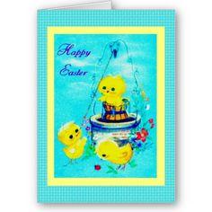 $3.60 #cards #easter #zazzle #elenaindolfi Sweet Easter Card by elenaind