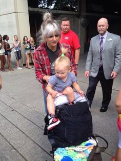 Lou and Lux. Lux's shoes are so cute!