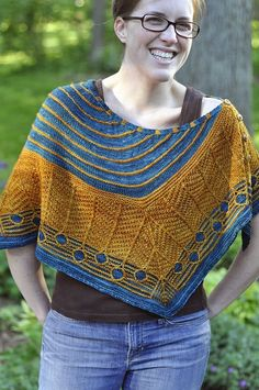 """Catkin"" by Catrina Spencer, as knit by treefroggin...amazing color choices.."