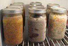 freezing food in jars