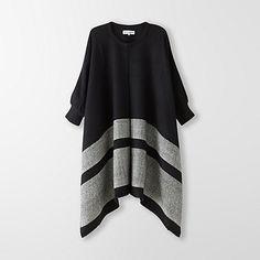 Katz Stripe Weave Poncho by APIECE APART