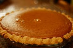 New Nostalgia: Perfect Pumpkin Pie (a secret ingredient!)