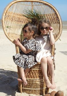 Animal print kids fashion from How to Kiss a Frog for summer 2014