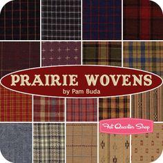 Prairie Wovens Fat Quarter Bundle Pam Buda for Marcus Brothers Fabrics