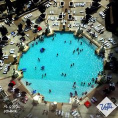 "Lazy ""Sun""-day by the pool at Paris Las Vegas Hotel & Casino."