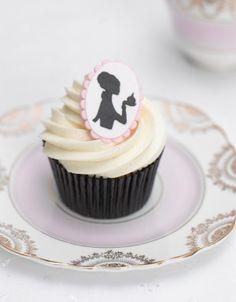 Cake Parlour Silhouette Cupcakes