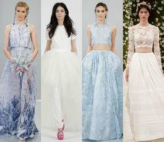Los 'otros' vestidos de la New York Bridal Week #novias #bride #wedding #dress