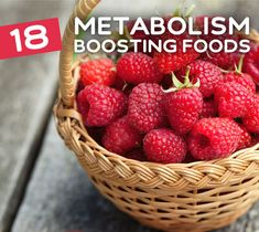 The best foods to boost your metabolism.