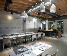 Contemporary industrial design restaurant industrial design restaurant
