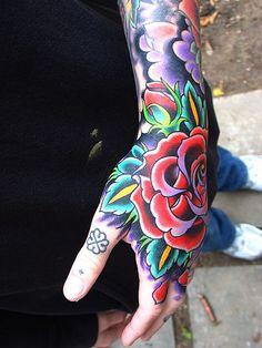 American / Traditional Tattoos by Jim Miner, via Flickr