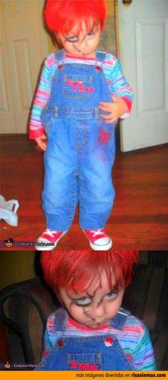 Disfraces de Halloween: Chucky.