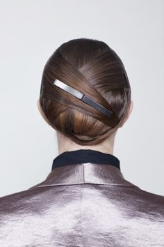 by Jason Wu. Photos by Amelia Alpaugh, this hair is very cool.
