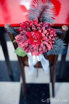 Chairback decorations