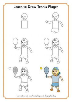 how to make a tennis draw