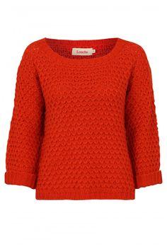 Louche Popcorn Textured Jumper - Knits & Sweats - Clothing - Womenswear