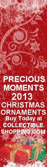 FREE Shipping when you buy 4 of either the Precious Moments 2013 Dated Christmas Ornament and the Precious Moments 2013 Dated Animal Christmas Ornament. Order your Precious Moments Annual Christmas Ornaments at CollectibleShopping.com. Click Image to Buy Now.