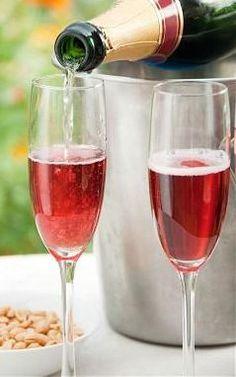 Рецепты коктейлей с шампанского