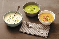 Gazpacho Recipes in Shades of Red, Green and White