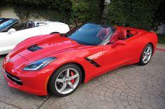 2014 Chevy Corvette Stingray Convertible #chevycorvette #windblox #windscreen #winddeflector