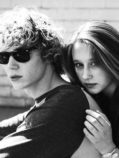 Evan Peters and Taissa Farmiga; American Horror Story. Love them