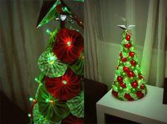 Yo Yo tree with led lights.  I adore this.