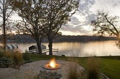 firepit by the water