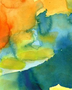 Large Art Print of Original Painting Abstract by soveryhappyart, $45.00