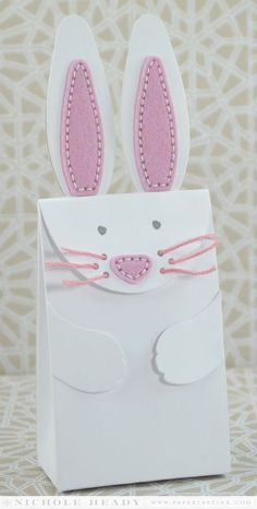 Bunny Bag by Nichole Heady for Papertrey Ink (February 2014)