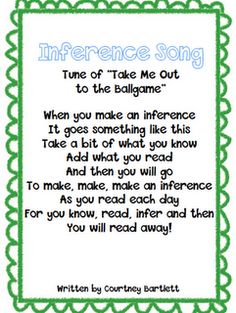 Inference Song