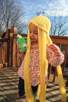 Tutorial  Rapunzel Hair