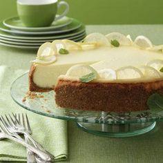 Lemon Dream Cheesecake Recipe from Taste of Home