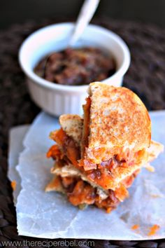 Maple Bacon Jame Grilled Cheese