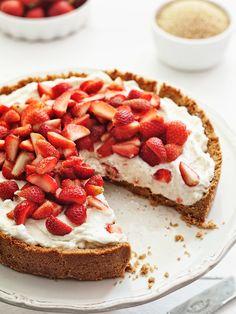 Strawberry mascarpone tart | w
