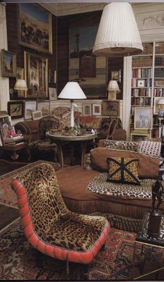 Kenneth Jay Lane NYC apartment from 1980s