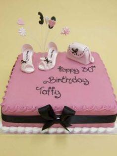 Pretty and Pink Birthday Cake!