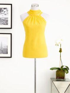 Eva Mendes Collection - Silky Halter Top - New York & Company