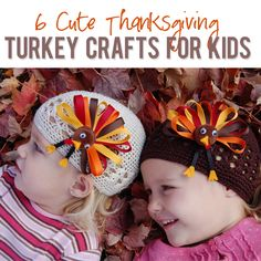 6 Thanksgiving crafts for Kids!  #howdoesshe #turkeycrafts #thanksgivingcrafts howdoesshe.com
