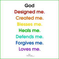 created by Him. Protected by Him.