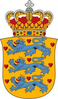 Denmark national coat of arms