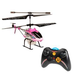 Syma S107 Bubble Shooter Pink 3.5CH RC Helicopter