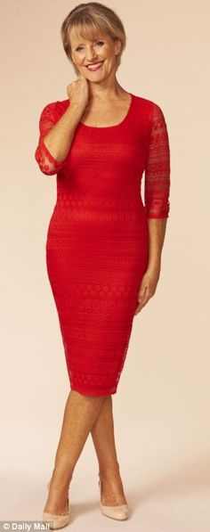 red dresses for mature women, crochet dresses, outfit