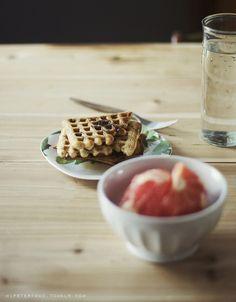 Vegan Freezer Waffles