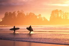 surfing in tofino... =)