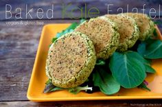 Delicious and Simple Baked Kale Falafel (Vegan/Gluten Free) …and Fave Five Friday: Chickpea Deliciousness!