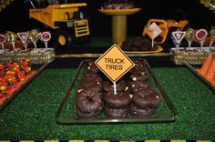 Hostess with the Mostess® - Construction Site Birthday Party